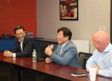Doosan Meeting round table