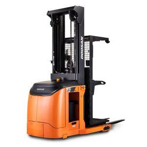 Doosan order picker warehouse equipment