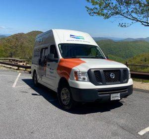 mobile service truck doosan